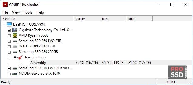 Обзор SSD Samsung 980 250GB MZ-V8V250BW или NVMe новинка по цене SATA